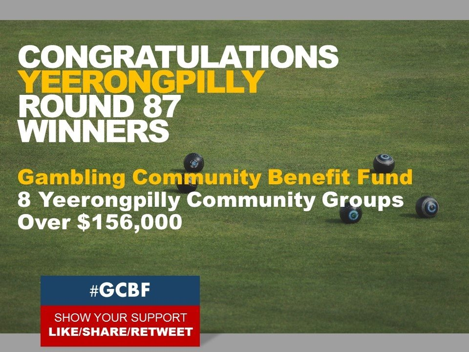 Yeerongpilly Community Benefit Fund